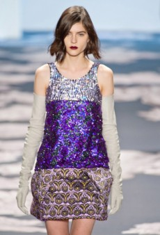 Glitter, Glitz and Shiny Things: Luxe Embellishments Are Big for Fall