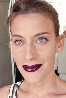 Veronique Branquinho's Fall 2013 Glossy Dark Lip: A tFS Video How-To
