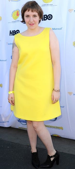 Lena-Dunham-4th-annual-LA-Loves-Alex-Lemonade-Sept-2013