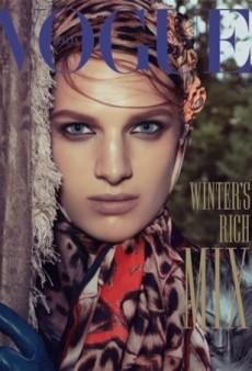 Ashleigh Good Is Vogue Italia's November Cover Girl (Forum Buzz)