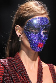 The 15 Craziest Beauty Looks from Fashion Month Spring 2014