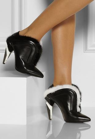 crazy shoes portrait