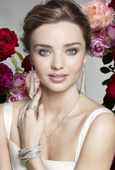 Miranda Kerr Gets Two-Faced for Swarovski and Mango