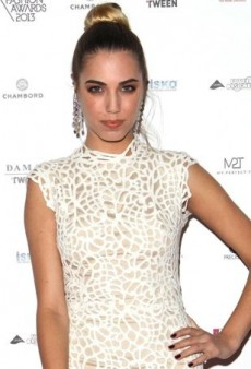 Amber Le Bon Turns Up the Texture in Ermanno Scervino