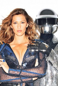 Gisele Bundchen and Daft Punk for WSJ Mag Cover, Photographed by Terry Richardson