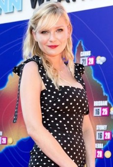 Kirsten Dunst Gets Spotted in Dolce & Gabbana at the Australian Premiere of Anchorman 2