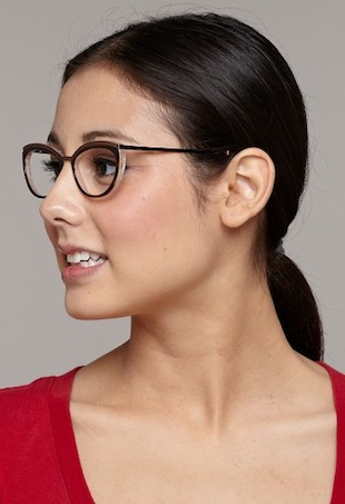 glasses portrait
