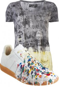 How To Wear Fall's Newest Cool-Girl Print: The Paint Splatter