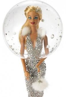 Barbie Receives a Christmas Makeover Courtesy of Stephen Jones