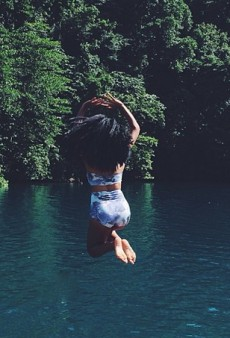 Solange Takes the Plunge and Other Celeb Twitpics of the Week