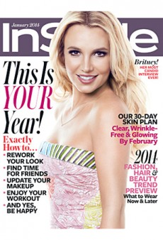 InStyle January 2014: It's Britney!
