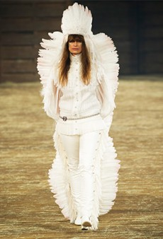 Debating the Native American Headdress at Chanel's Dallas-Inspired Show (Forum Buzz)