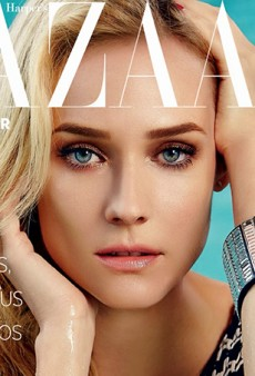 Link Buzz: Diane Kruger for Harper's Bazaar Brazil; Beyonce's Facelift Makeup Comes to Brooklyn