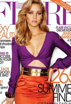 Jennifer Lawrence Has Bones Shifted in Flare Photoshopping Shocker