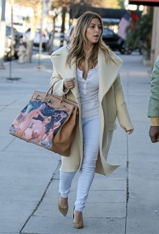Kim Kardashian's New Arty Birkin, Gifted By Kanye, Isn't a Hit With the Critics