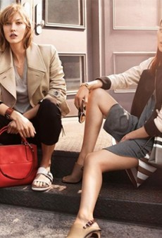 Karlie Kloss and Liu Wen Return as the Faces of Coach for the Spring 2014 Campaign