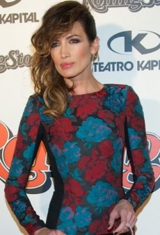 Nieves Alvarez Rocks Zuhair Murad at the Rolling Stone Magazine Awards