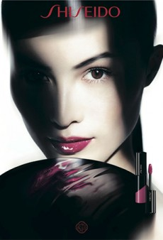 Sui He Returns as the Face of Shiseido's Spring 2014 Makeup Collection