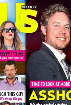 Us Weekly Cover Spoof: Time to Look at More A-Holes