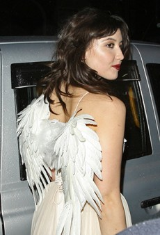 Daisy Lowe Takes a Turn as the Christmas Fairy