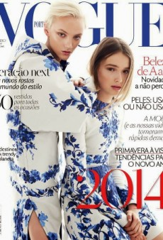 Vogue Portugal Recycles a Vogue Australia Editorial For December 2013