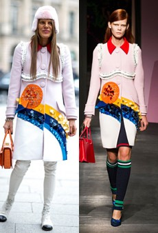 Runway to Real Life: Anna Dello Russo and Kiernan Shipka in Prada and More (Forum Buzz)