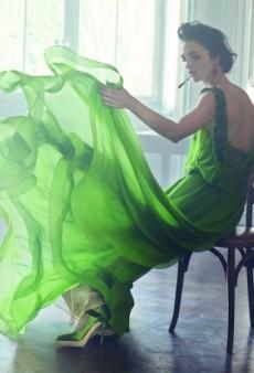 Mariacarla Boscono Stars In Pretty Alberta Ferretti Spring 2014 Campaign (Forum Buzz)
