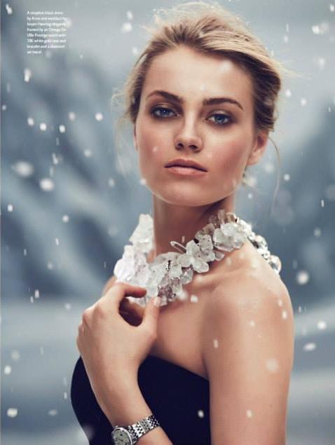 Anna Maria Jagodzinska in OMEGA Lifetime Magazine