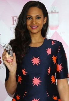 Alesha Dixon Caps Off Her House of Holland Dress with Dynamic Sophia Webster Sandals
