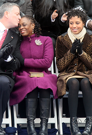 Blasio-First-Family