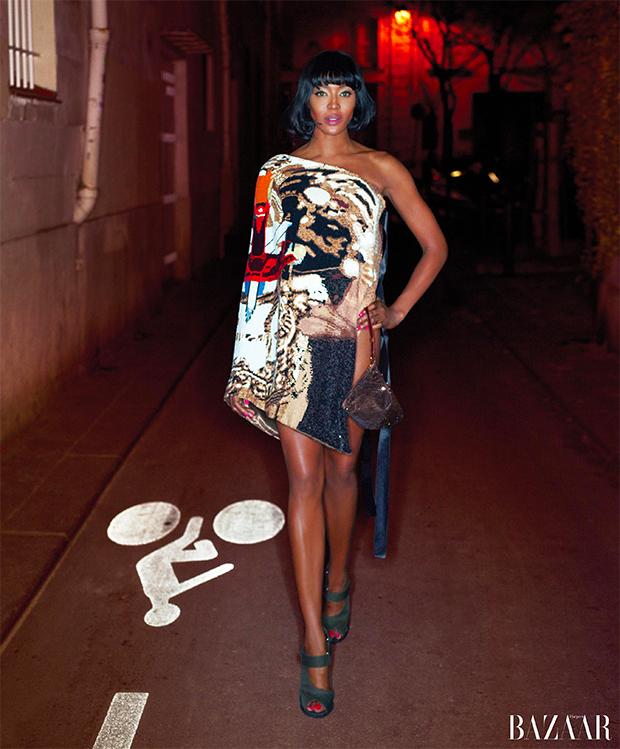 Image: Karl Lagerfeld for Harper's Bazaar
