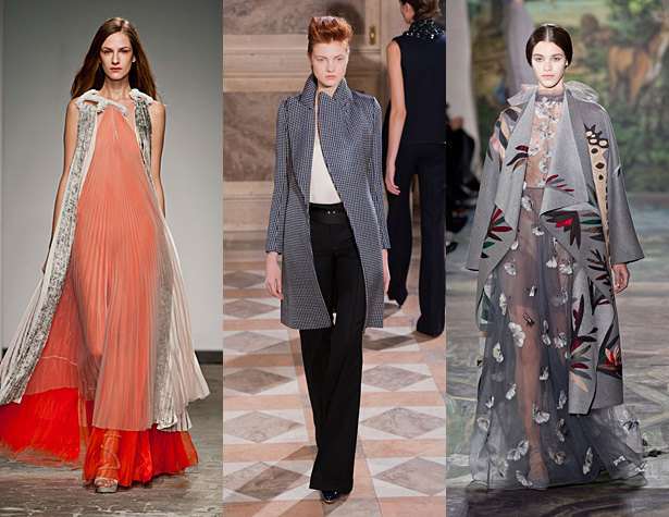 The Hits: Vionnet, Bouchra Jarrar, and Valentino. Images: IMAXtree