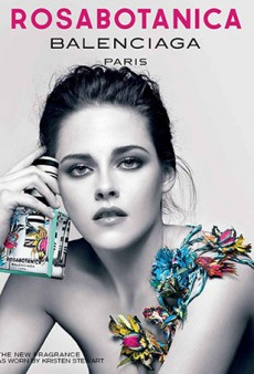 Kristen Stewart for New Balenciaga Fragrance Campaign: 'It Looks Like She's Holding a Bottle of Alcohol'