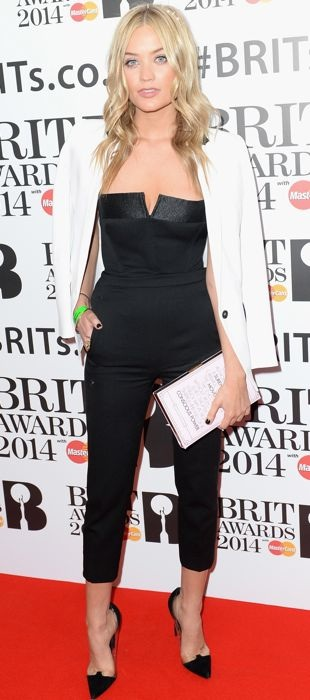 Laura-Whitmore-BRIT-awards-nominations-London-Jan-2014