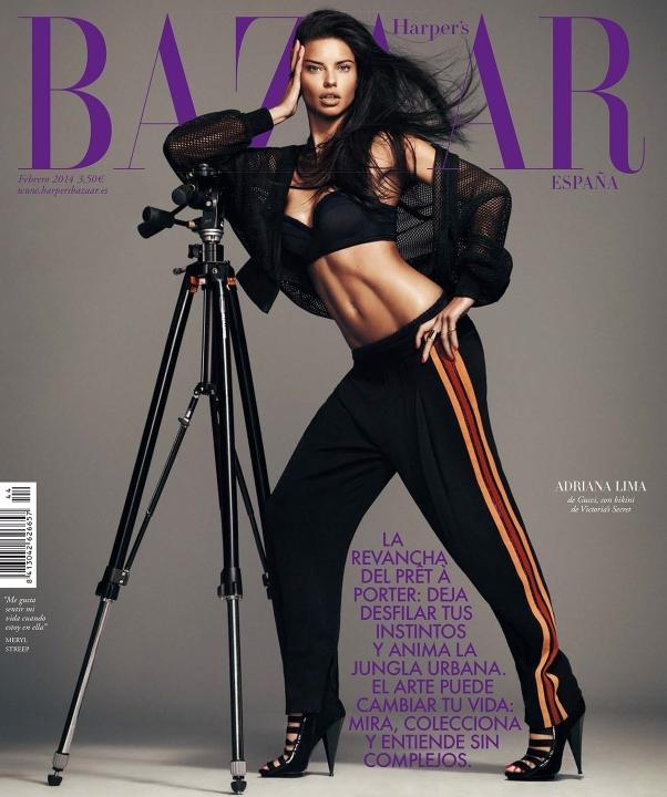 Harper's Bazaar España February 2014