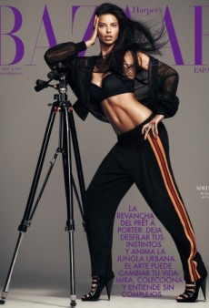 Adriana Lima Looks Sexy on Striking Harper's Bazaar Spain Cover (Forum Buzz)