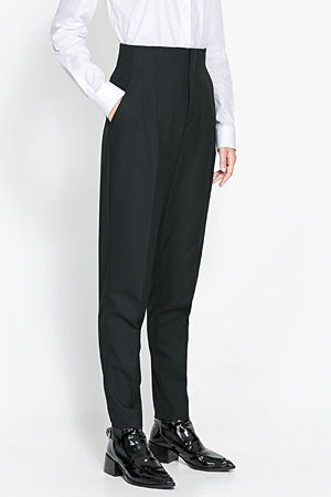 Zara-high-waist-pants