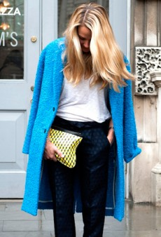 Snapped: The Best Street Style Pics of Coat Slinging This Season