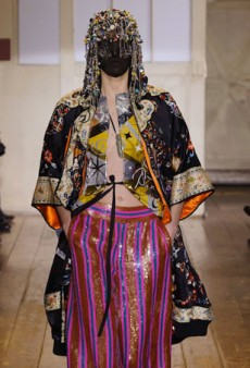 Maison Martin Margiela Features Rare Fabrics for Haute Couture Collection