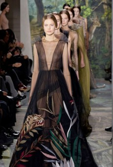 Valentino Delivers a Fairytale Haute Couture Collection for Spring 2014