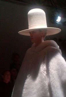 Gareth Pugh's Hat Trick, Designers Relive Their Childhood— and More Fashion Tweets from #PFW