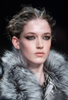 Beauty Report: Party Ready Smoky Eyes at Roberto Cavalli Fall 2014