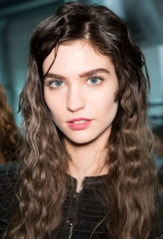 Beauty Report: Throwback Hair at Giorgio Armani Fall 2014