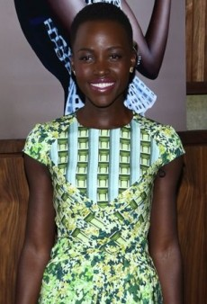 Lupita Nyong'o Commemorates Her Cover Decked Out in a Printed Peter Pilotto Dress