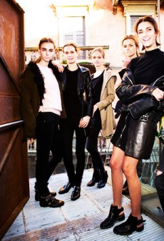 Backstage at Milan Fashion Week Fall 2014: A Little Less Vampy, A Little More Blissful