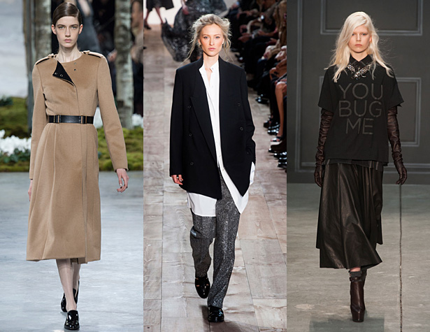 The Hits: Hugo Boss, Michael Kors, Vera Wang. Images via style.com and IMAXtree.