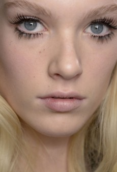 Beauty Report: Lashes to the Limit at Rochas Fall 2014