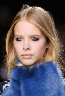 Beauty Report: Smoky Lower Lashes at Topshop Unique Fall 2014