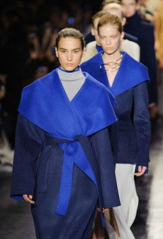 Altuzarra Lures with Technicolor Coats for Fall 2014 (Runway Review)