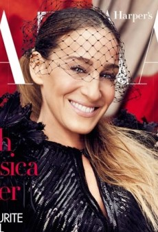 Celebrating Fashion: Sarah Jessica Parker Is UK Harper's Bazaar's April Cover Subject